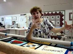 Longarm Tutorial - How To Preview Block Design with plexiglass and dry erase