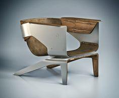 Q Lounge Chair on Behance