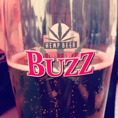 Millennium Buzz in a pint glass