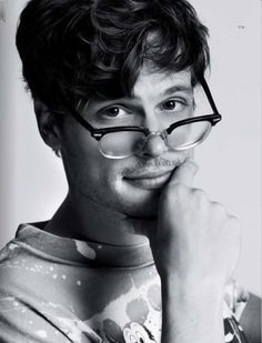 Matthew Gray Gubler-Dr Spencer Reid- Plus he is wearing a Disney shirt.