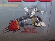 Aim-54 Missile Nose Art