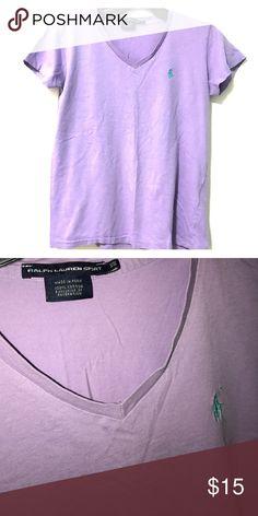 Ralph Lauren Sport Woman VNeck Gently used. Ralph Lauren Tops Tees - Short Sleeve