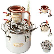 New Copper 8 Gal 30 Litres Alcohol Moonshine Still Spirits Distiller Brew Home Kit Spirits Boiler ONE Year Warranty ! FREE Parts Exchanged ! Alcohol , Ethanol , Whiskey , Water Distiller, Wine Making Stainless Boiler Alcohol Still, Whisky, Bourbon Whiskey, Moonshine Alcohol, Moonshine Recipe, Reflux Still, Copper Moonshine Still, Still Spirits, House 2