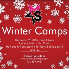 Winter Camps!!