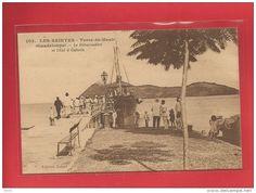 Terre de Haut, le débarcadaire; les Saintes, Guadeloupe