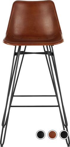 Kendal Barstool, Tan and Black Kitchen And Bath, New Kitchen, Kitchen Ideas, Kitchen Stools, Bar Stools, Living Room Designs, Living Rooms, Kendall, Beige