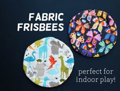 Fabric frisbees for