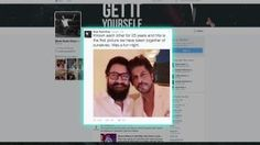 First Selfie : Took 25 years for #SRK and #Aamir to pose together on #socialmedia | Bollywoodcountry  #TopNews #Bollywood #actor #Entertainment #Media