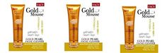 Beauty Set  3 Units of Facy  Gold Mousse Gold Pearl Facial Cleanser Whitening  Exfoliating 80g Best Seller of Thailand Free Facial Hair Epicare Spring A1Remover ** Continue to the product at the affiliate link Amazon.com.