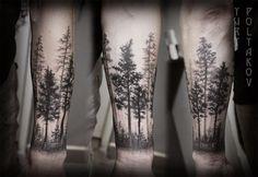 2016 INKEDD Trends | Dark, Ethereal Tree Tattoos