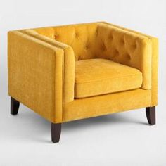 French Yellow Kendall Chair