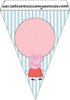Peppa Pig: Party Free Printables.