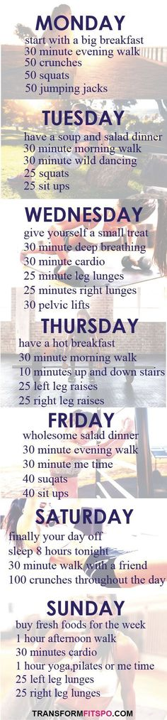 Repin and share if you enjoyed this week workout!