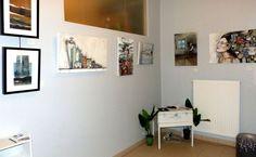 Exposition dans la petite galerie, Citémômes, Rouen