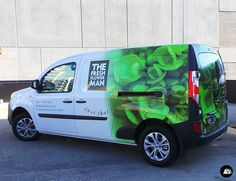 The Fresh Flower Man, Renault Kangoo, Van Wrap, Vehicle Graphics, Florist, Delivery Van