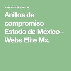 Anillos de compromiso Estado de  México - Webs Elite Mx.