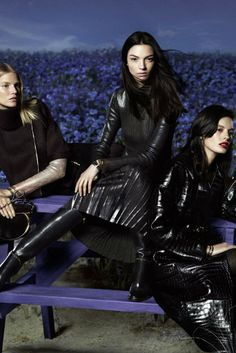 A visual from the Salvatore Ferragamo fall 2014 ad campaign. [Photo by Mert Alas and Marcus Piggott]