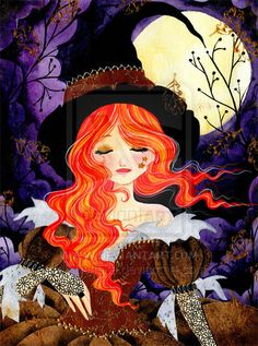 Witchtime by ~Tieneke on deviantART ~ Halloween ~ witch