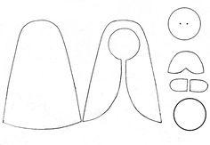 Linda Nossa senhora das Graças em Feltro, aprenda a fazer! Materiais necessários: Feltro nas cores - azul claro branco salmão claro (cor da pele) amarelo preto Linhas de meada ou de pesponto nas cores correspondentes ao feltro Tesoura Agulha de mão comum Alfinete Cola quente ou cola para artesanato Papel cartão ou acetato para o…