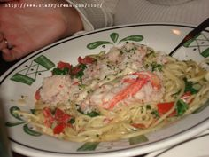 Olive Garden at Home: Lobster Spaghetti