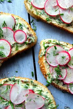 When it comes to sandwich fillings, less is often more. These radish sandwiches take just minutes to prepare and come with a delicious anchovy and herb butter.