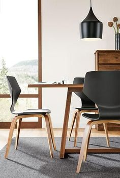 Exclusive to Room & Board, our Pike chair strikes a balance between function…