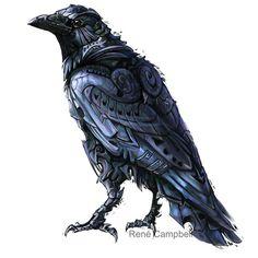 Steam Punk raven