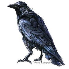 raven art …
