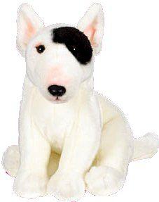 "Webkinz Signature Bull Terrier 10.5"" Plush"