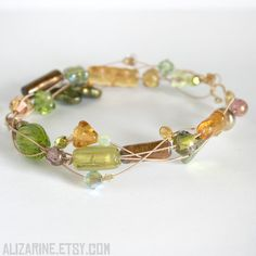 Meadow - Strung Out recycled guitar string bracelet