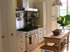 K Kitchens Ludlow ... on Pinterest   Exposed brick, Brick walls and Black kitchen cabinets