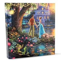 "Thomas Kinkade Disney Dreams Collection 14"" x 14"" Gallery Wrap"