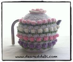 Rose Bud Tea Cozy - Media - Crochet Me