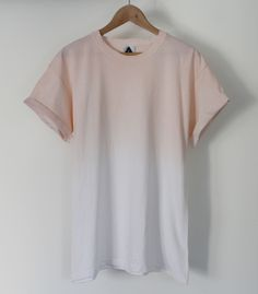 AndClothing Orange Fade Dip Dye Tee #dipdye