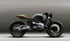 LAZARETH SCRAMBLER - BMW R1200 R on Behance - Pappa's Blog
