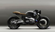 LAZARETH SCRAMBLER - BMW R1200 R on Behance - Pappa's Blog