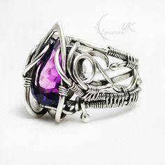 AMETHARX silver and amethyst. by LUNARIEEN.deviantart.com on @DeviantArt