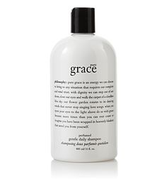 Pure Grace Shampoo by Philosophy. Rated 1.5 on cosmetics database! Must try.