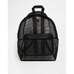 ASOS Mesh Backpack Mesh Backpack 47937b0ca316d
