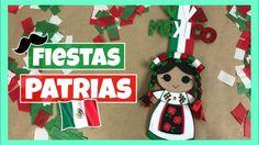 DIY - DECORACIÓN PARA FIESTAS PATRIAS | ADORNO PARA EL 15 DE SEPTIEMBRE!... Mira el paso a paso de esta linda decoración para las fiestas patrias mexicanas! 15 de Septiembre.