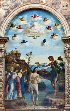 Baptsm of Christ is a painting by Italian Renaissance painter Cima da Conegliano, dating from 1492. It is housed in the church of San Giovanni in Bragora in Venice.