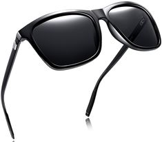 bbb37e48b35 Unisex Polarized Sunglasses Classic Men Retro UV400 Brand Designer Sun  glasses - Black Aluminum Legs -