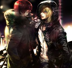 Death Note, i dont think this is Obata Sensei's art but i like it, so i pinned it here