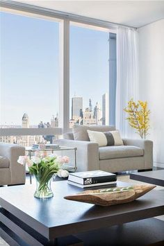 Time Warner Duplex Asks $42.5M for White Walls and Views   Curbed NY