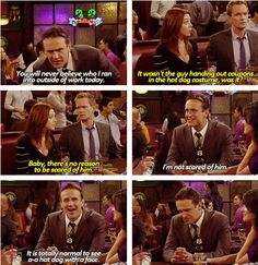 Marshall is so cute :) How I Met Your Mother #himym