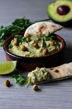 The Spoon and Whisk: Avocado Hummus