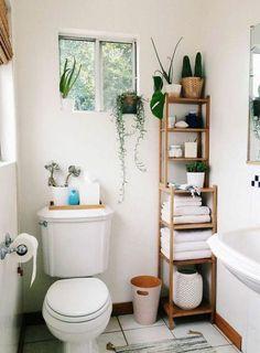 Cute bathroom ideas! #small #bathroom #decorating #ideas Cute Bathroom Ideas, Bathroom Small, Simple Bathroom, Budget Bathroom, Bathroom Designs, Organized Bathroom, Bathroom Hacks, Tiny Bathrooms, Bathroom Modern