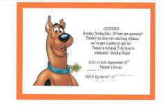 Scooby Doo Birthday Party Ideas | Photo 1 of 13 | Catch My Party