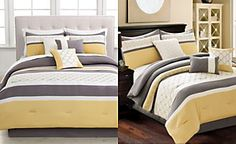 Viscaya 7 Piece Embroidered Comforter Sets