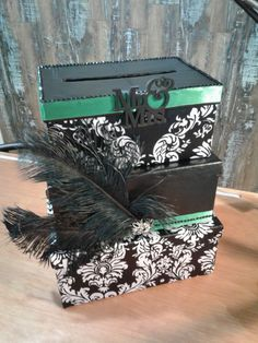 DIY Photo Cardbox - Instructions | Pinterest | Diy wedding card box ...